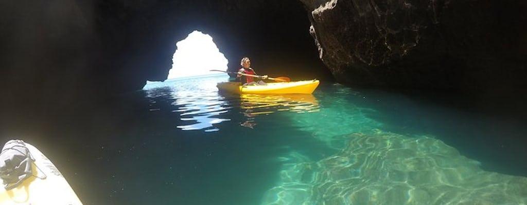 Wycieczka kajakiem z przewodnikiem z plaży Ingrina do grot Barranco