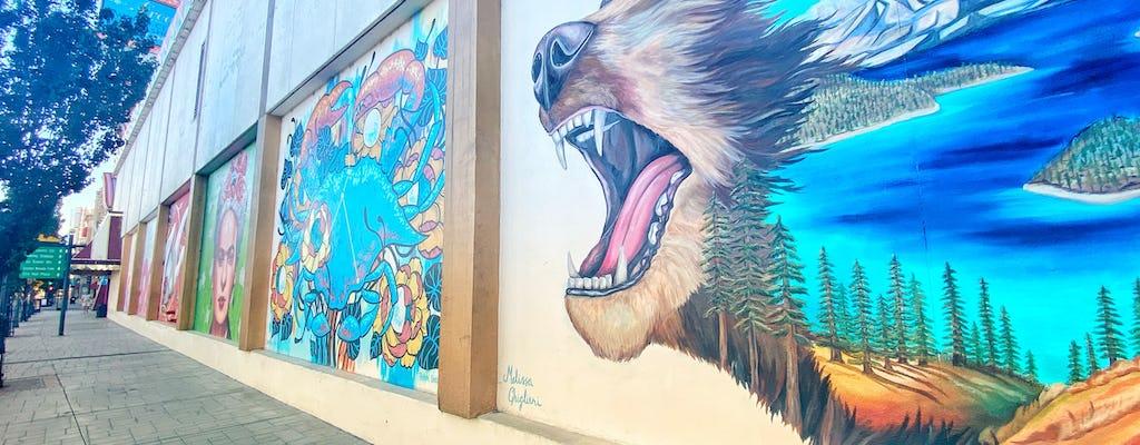 Reno Burning Man kunst en muurschildering fietstaxi tour