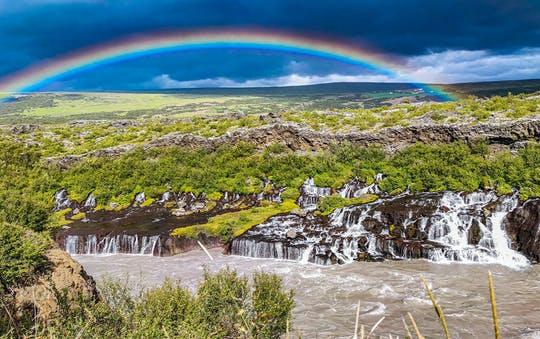 Tour of West Iceland with Lava Cave visit