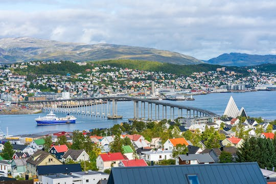 Tromso private city tour with Arctic Cathedral, Polar Museum visit and Cable Car ride