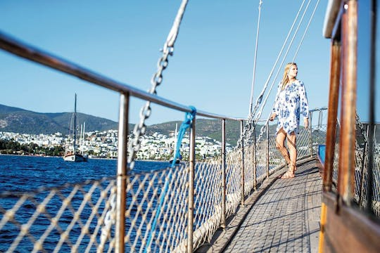 Bodrum VIP cruise adults only door Outdoor Yachting