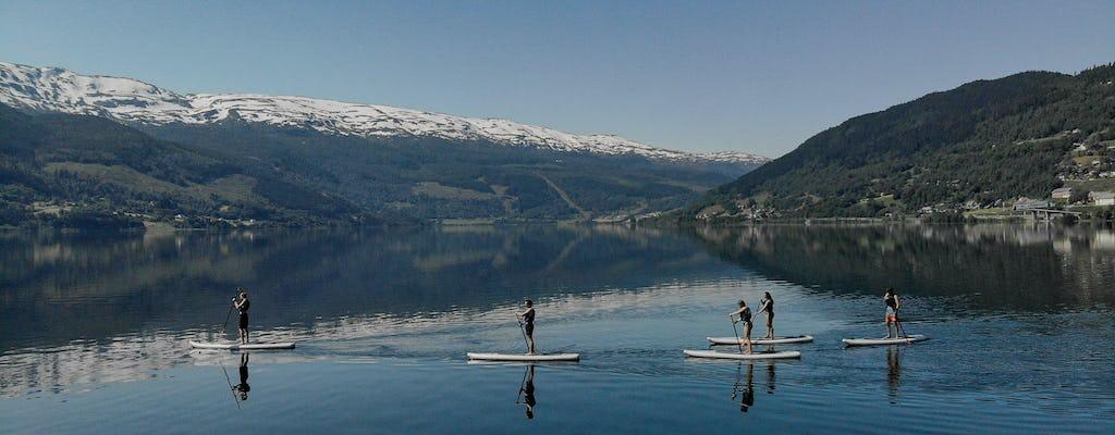 Noleggio di stand up paddle a Voss