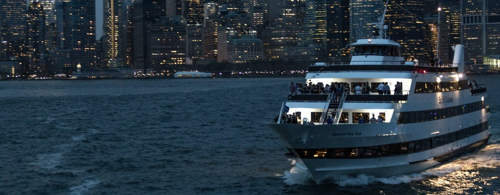 Cruzeiro com jantar Spirit of New York