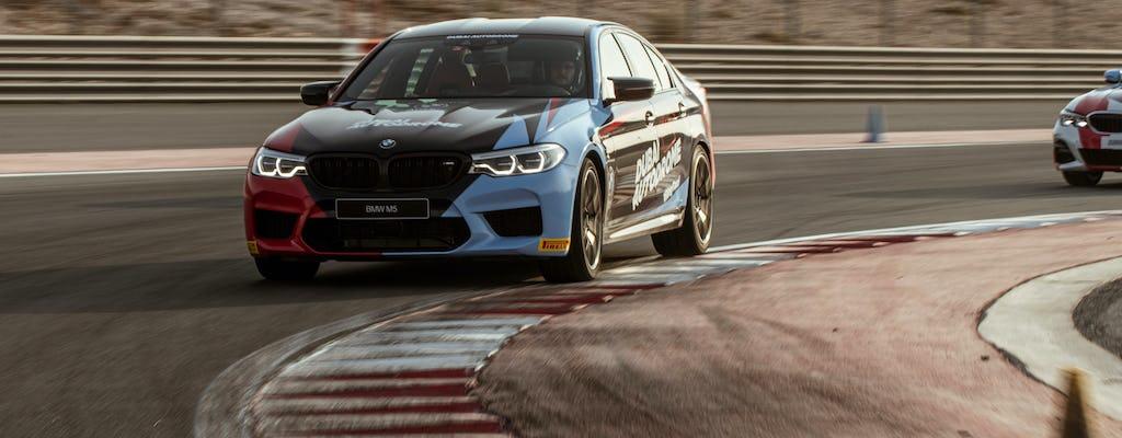 Entdecken Sie das BMW M5 Fahrgasterlebnis