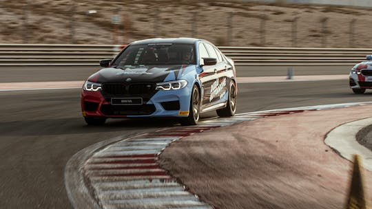 Discover the BMW M5 passenger thrill experience