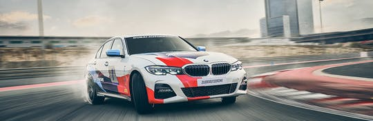 Discover the BMW 330i M-Sport passenger thrill experience