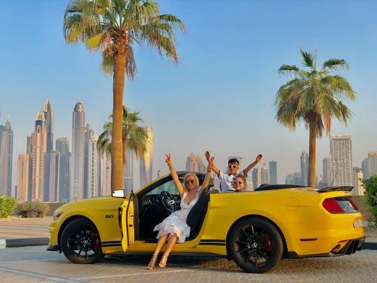 Tour privato della città di Dubai di 3 ore in una decappottabile