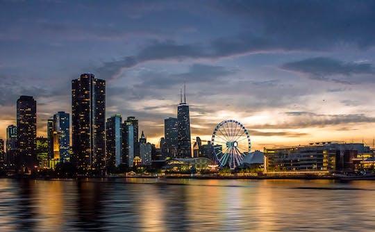Croisière au coucher du soleil de 2 heures à Chicago