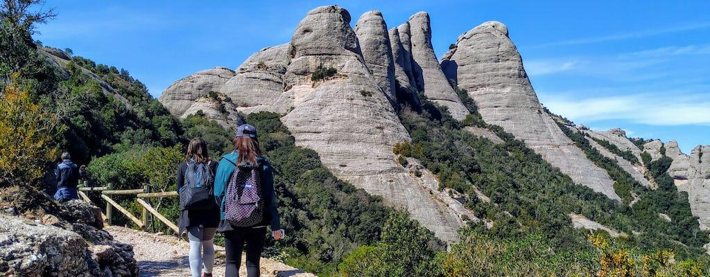 Montserrat Natural Park Hiking and Monastery