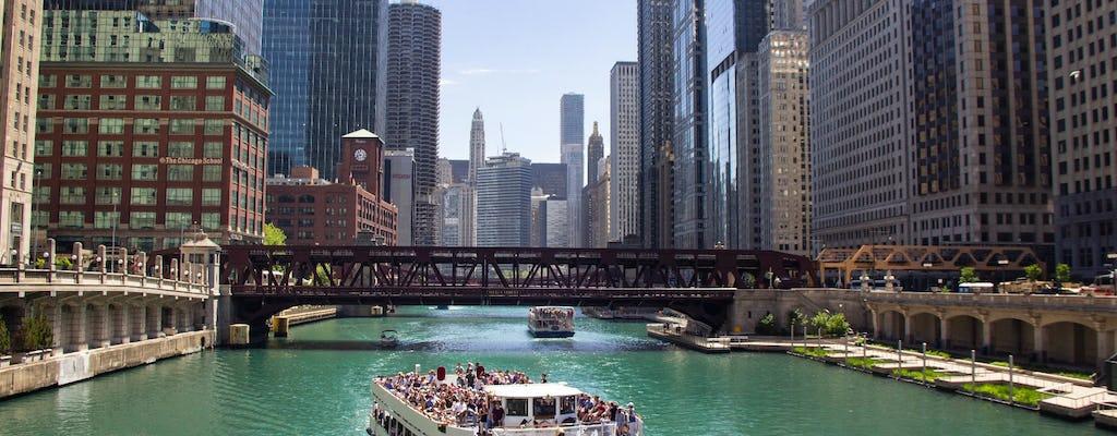 Croisière architecturale de 45 minutes sur la rivière Chicago