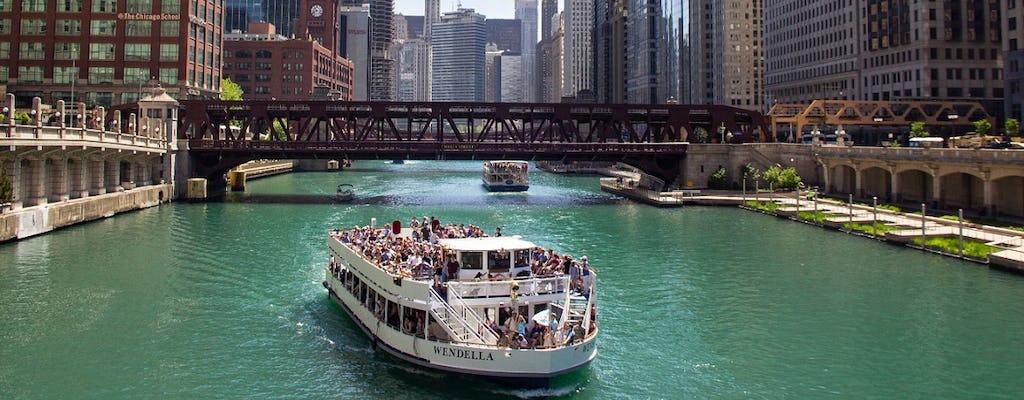 Tour de arquitetura do Rio Chicago de 90 minutos