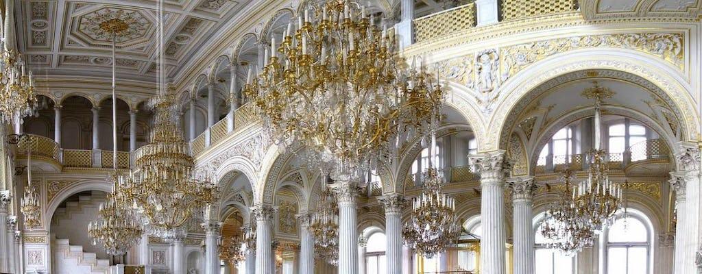 Juego de búsqueda móvil: las obras maestras del Hermitage en San Petersburgo