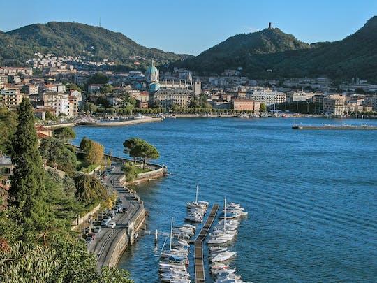 Experiência paisagística de Lugano e Bellagio de Como