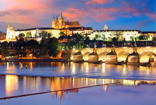 Cruise on the Vltava River with dinner and music in Prague