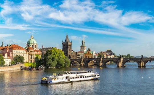 Cruise on the Vltava River with refreshments