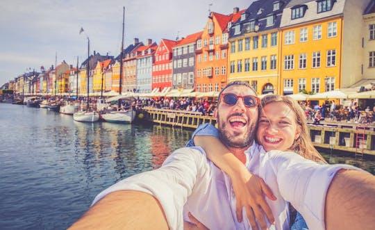 Passeio privado romântico guiado por Copenhague