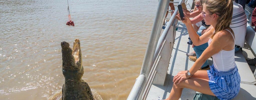 Spektakularny rejs skaczących krokodyli po rzece Adelaide