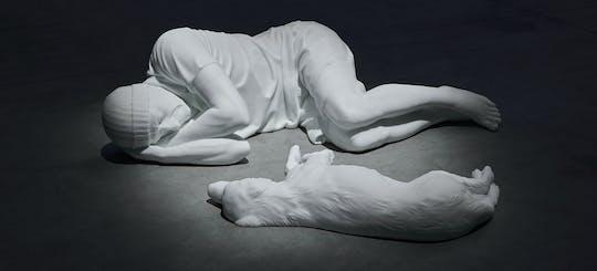 """Visita guidata alla mostra """"Breath Ghosts Blind"""" di Maurizio Cattelan"""