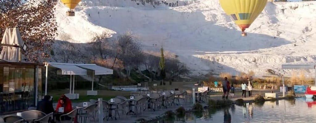 Pamukkale Heißluftballon-Fahrt zum Sonnenaufgang von Antalya