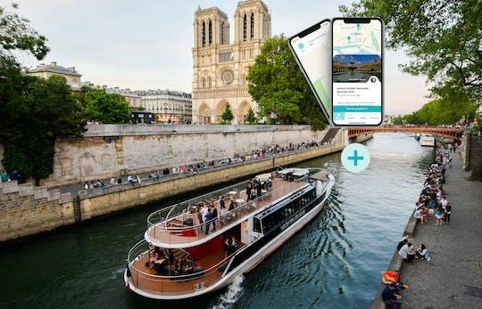 Crociera sulla Senna e tour a piedi del Marais sul tuo smartphone