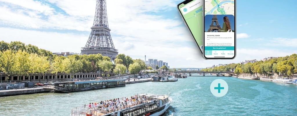 Crociera sulla Senna e tour del quartiere della Torre Eiffel sul tuo smartphone