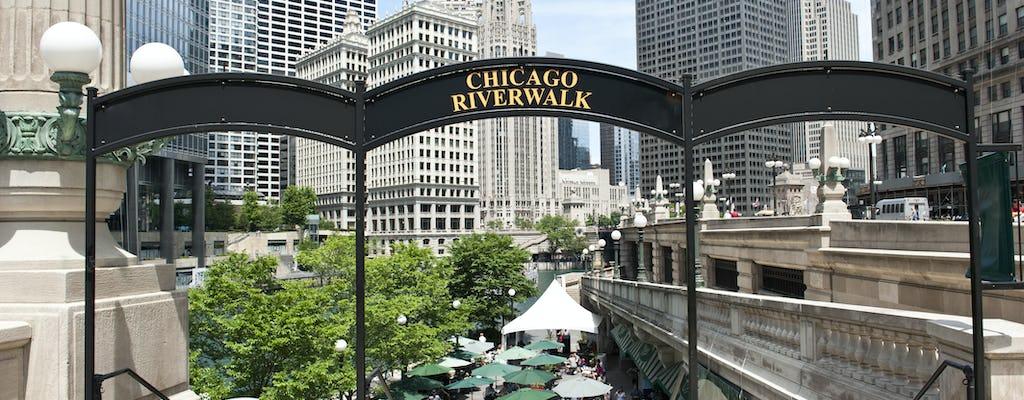Geführte Tour durch Riverwalk, den Geburtsort von Chicago