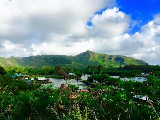 Passeio de caiaque pelo rio Wailua em Kauai