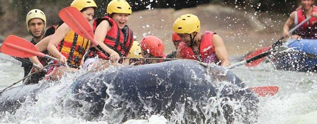 Rafting en eaux vives depuis la région de Galle