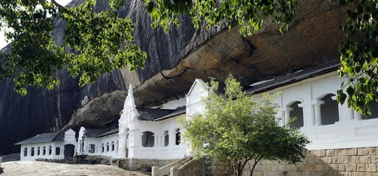 Excursão privada a Sigiriya e Dambulla da região de Galle