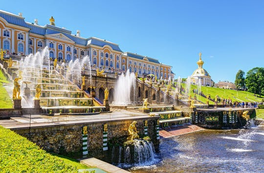San Petersburgo: visita al Hermitage y al parque Peterhof con paseo en barco