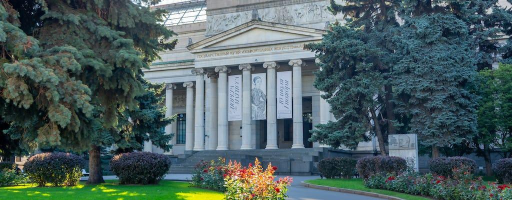 Rondleiding naar het Pushkin State Museum of Fine Arts in Moskou