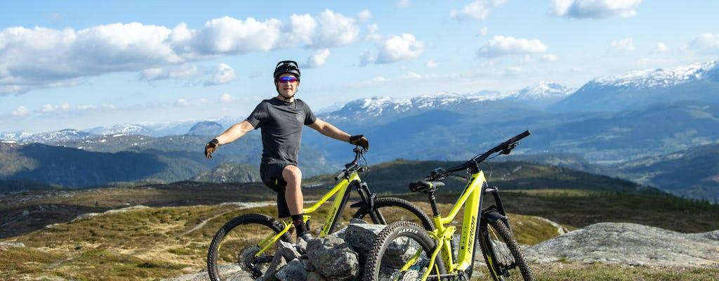 Noleggio di mountain bike elettriche a Voss