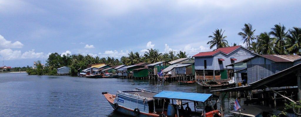 Uma passagem de dia inteiro para a vila de Kampot saindo de Sihanoukville com almoço