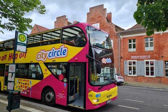 Tour in autobus hop-on hop-off di Potsdam - pass di 24 ore