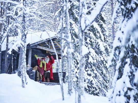 Het geheime schuilplaatsbezoek van de kerstman in Levi