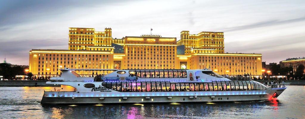 Moscow river cruise on the Radisson Flotilla Yacht
