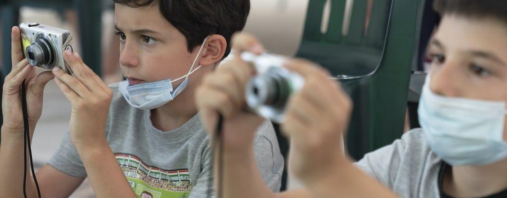 Percorsi creativi in Pirelli HangarBicocca: Dillo con immagini tue! (10-12 anni)