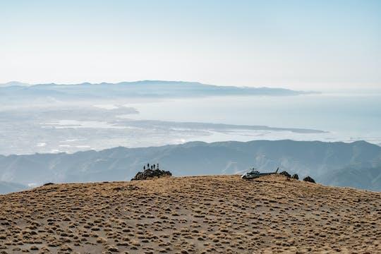 Malownicza wycieczka helikopterem po Nelson Mountain