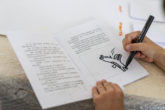 Percorsi creativi in Pirelli HangarBicocca: A caccia di storie (6-8 anni)