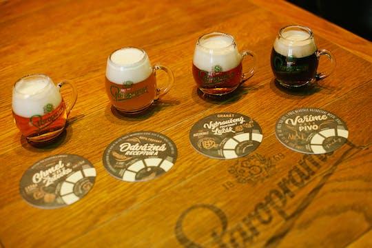 El secreto de la cerveza: espectáculo audiovisual y degustación en Praga