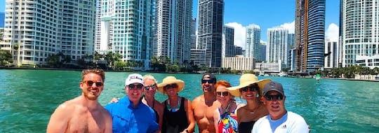 Alquiler de barco privado de medio día con capitán en Miami