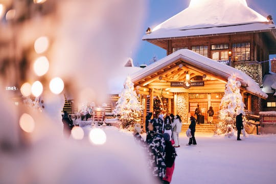 Day tour to Santa Claus Village from Levi