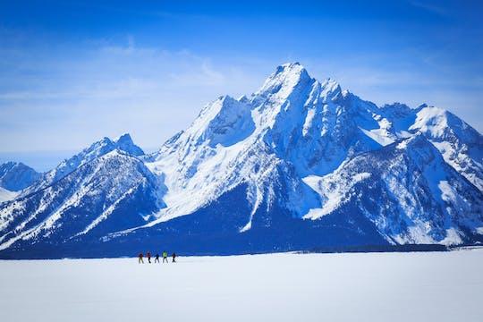 Aventura particular com raquetes de neve de meio dia no Parque Nacional Grand Teton