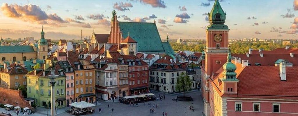 Tour autoguidato con gioco interattivo della città di Varsavia