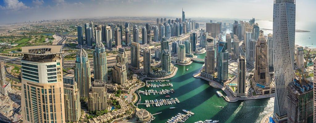 Vol emblématique de 17 minutes en hélicoptère au-dessus de Dubaï