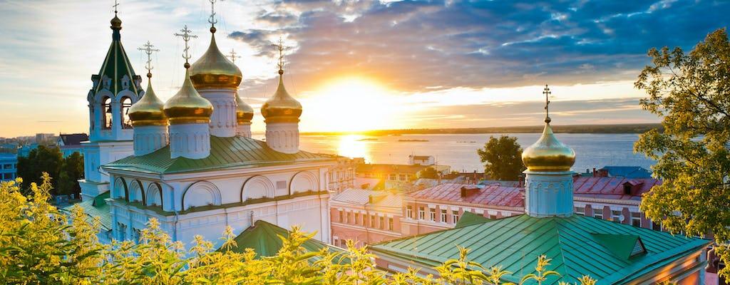 Passeio romântico em Nizhny Novgorod
