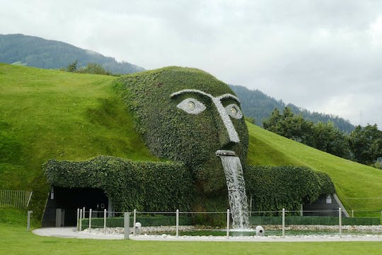 Wattens private and guided walking tour