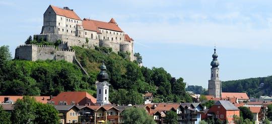 Visite guidée privée à pied du château de Burghausen