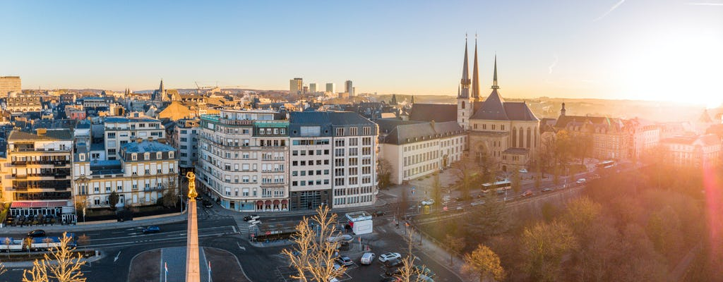 Luxembourg private and guided walking tour