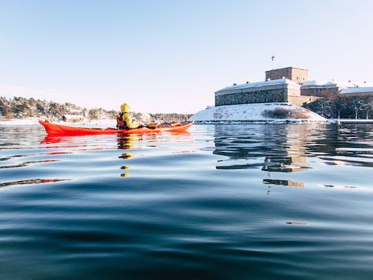 Tour de kayak de invierno al archipiélago
